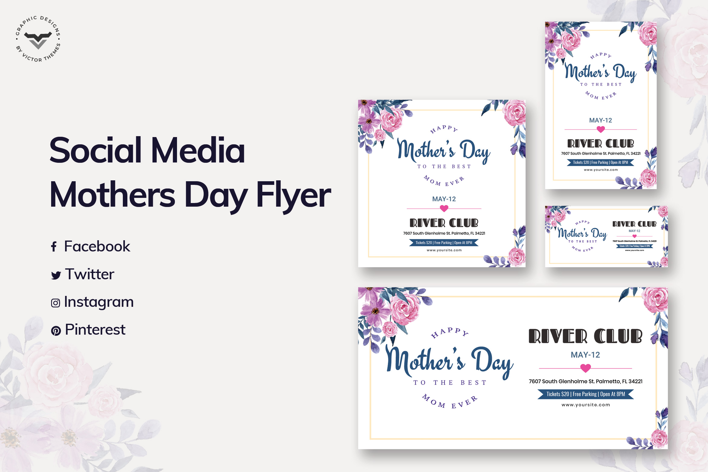 Mothers Day Social Media Template
