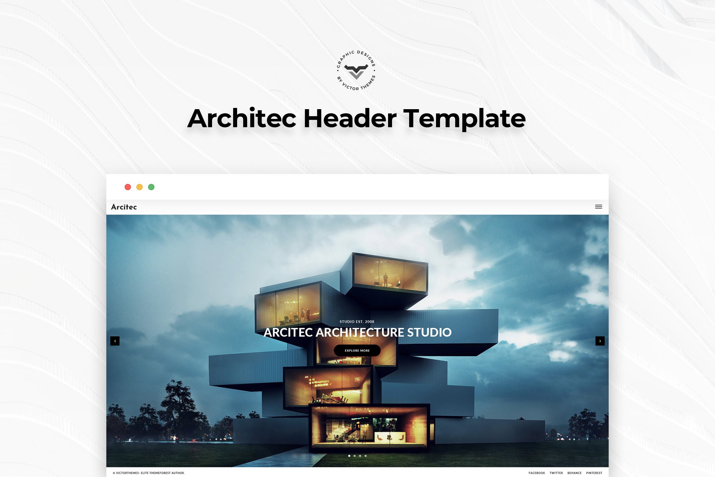 Architecture Landing Page Templates