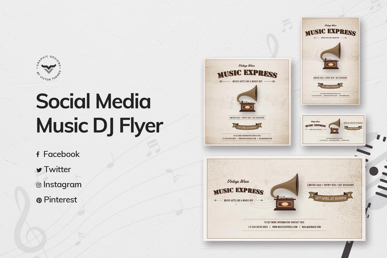 Music Social Media Templates