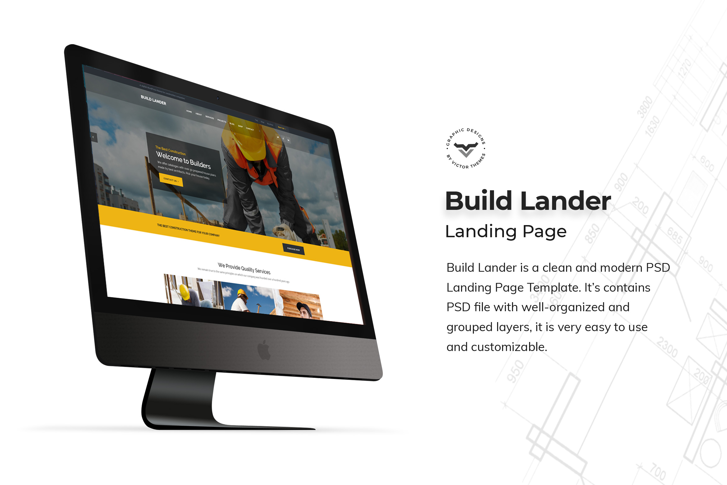 Construction Landing Page Templates