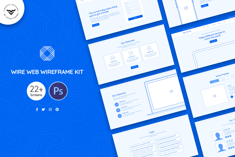 Wire Web Wireframe Kit