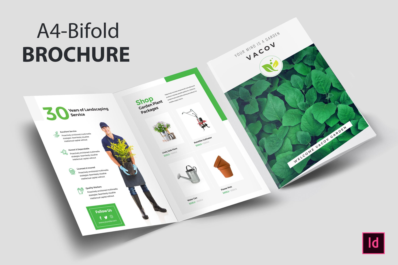 Eco Plant Bi-fold Brochure