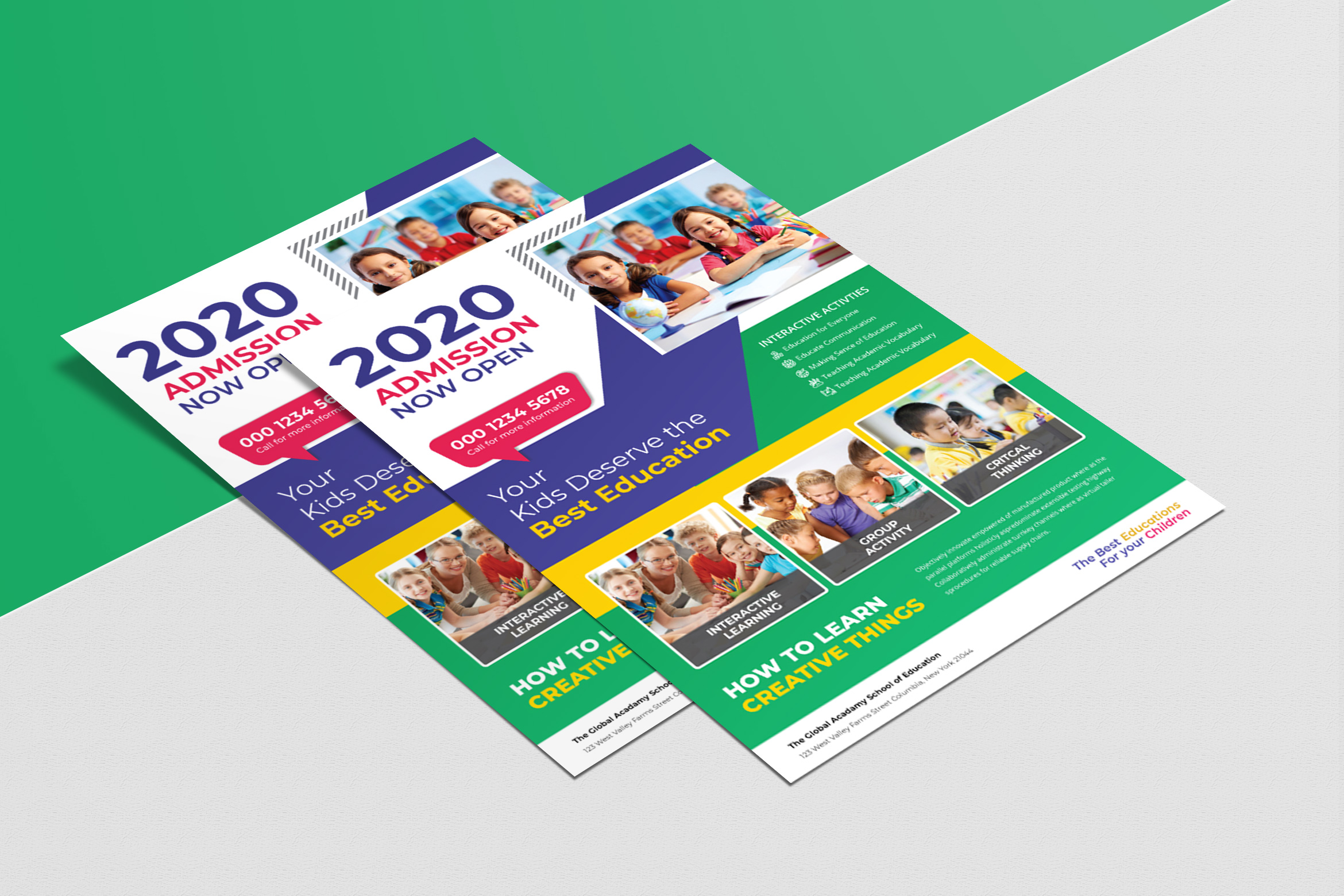 The Education Flyer Template