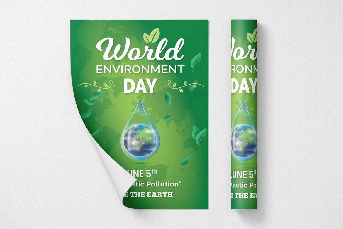 World Environment Day Flyer Template