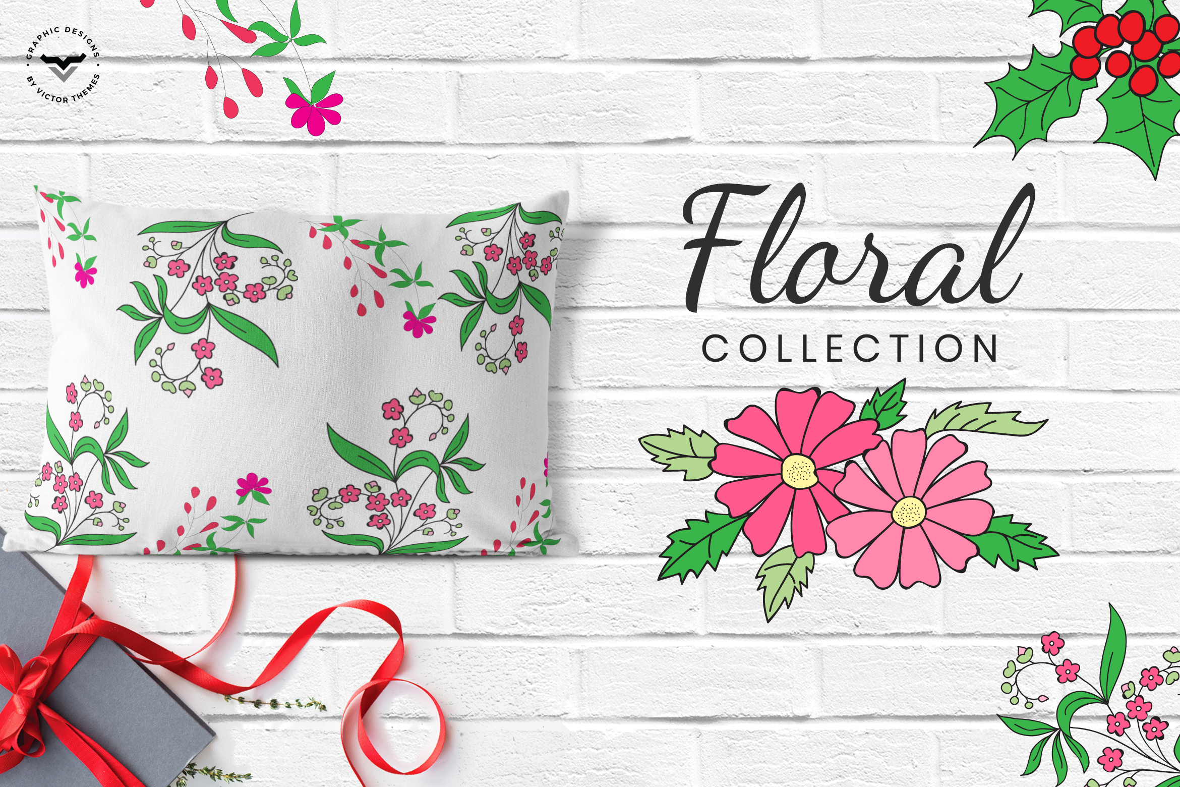 Floral Collections Elements