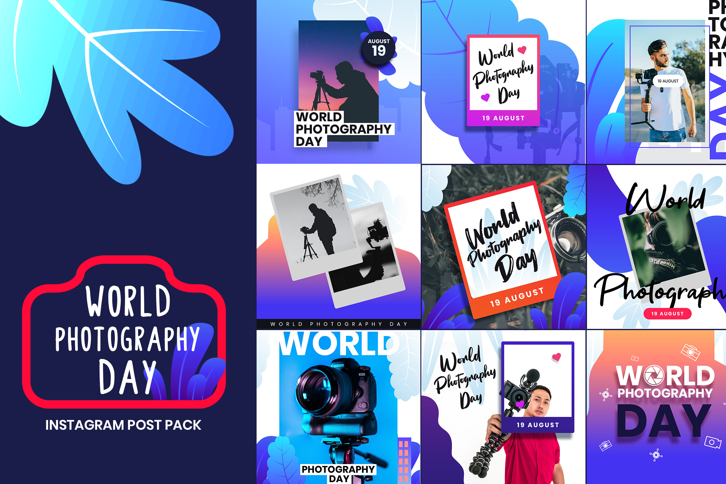 World Photography Instagram Post Template