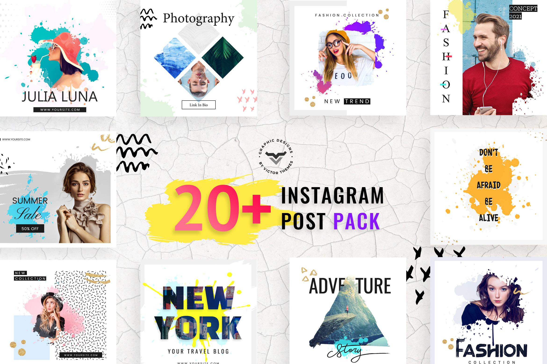 Instagram Post Social Media Template