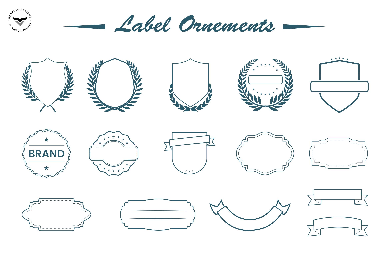 Label Ornaments