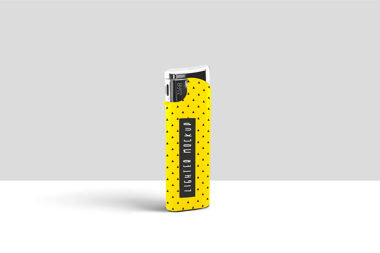Lighter PSD Mockup