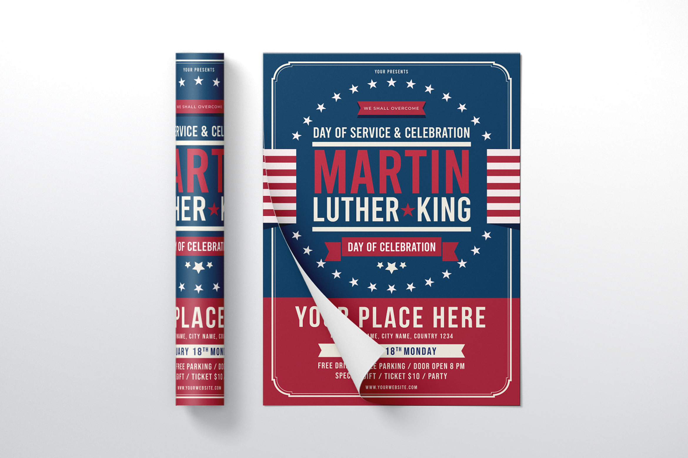 Martin Luther King Jr. Day Flyer Template