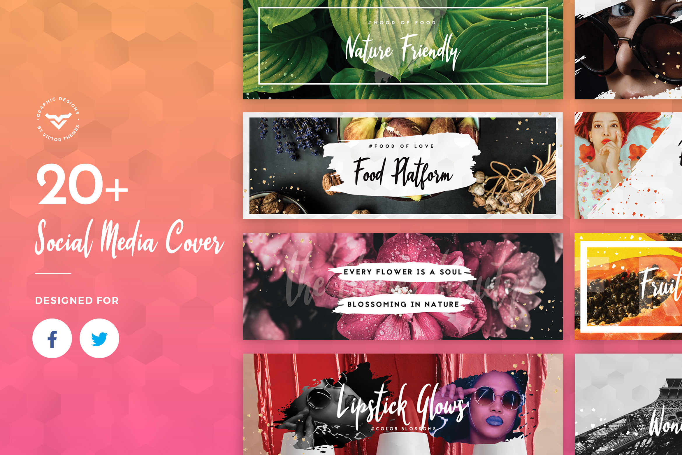Facebook & Twitter Cover