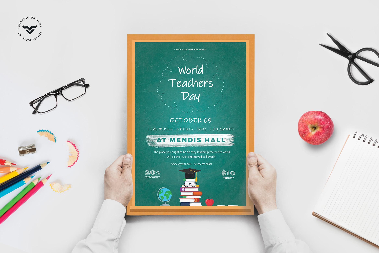 Teacher's Day Flyer