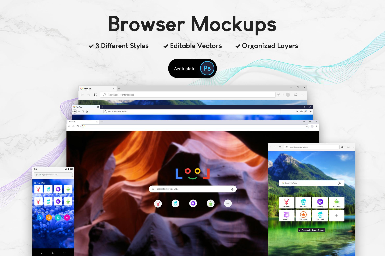Browser Mockups