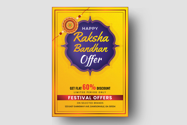 Raksha Bandhan Flyer Template