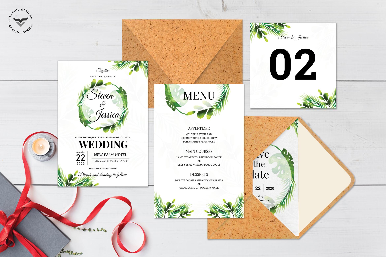 Wedding Invitation Template Pack