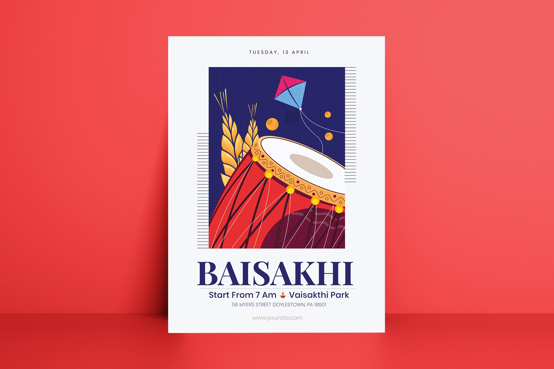 Baisakhi Flyer Template