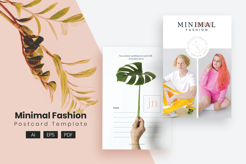Fashion Post Card Template
