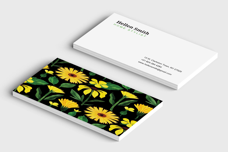 Home Stylish Business Card