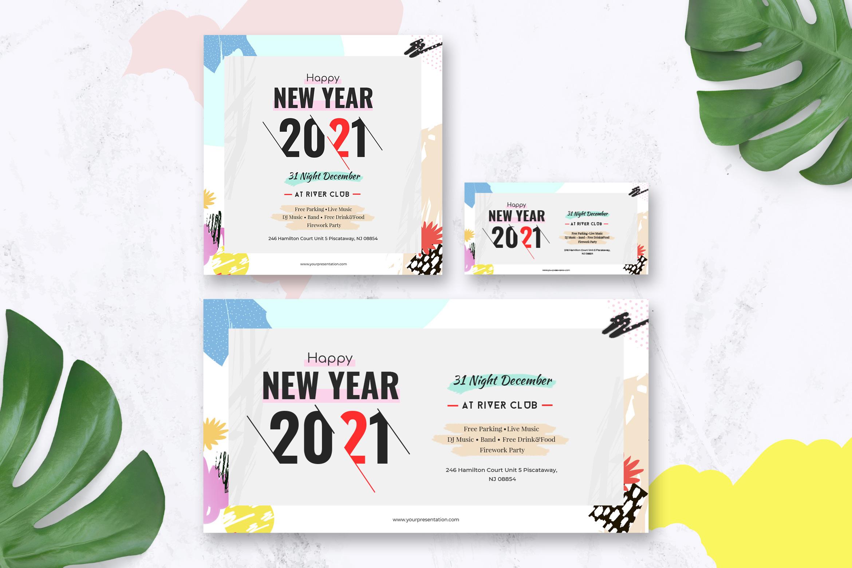 New Year Social Media Pack