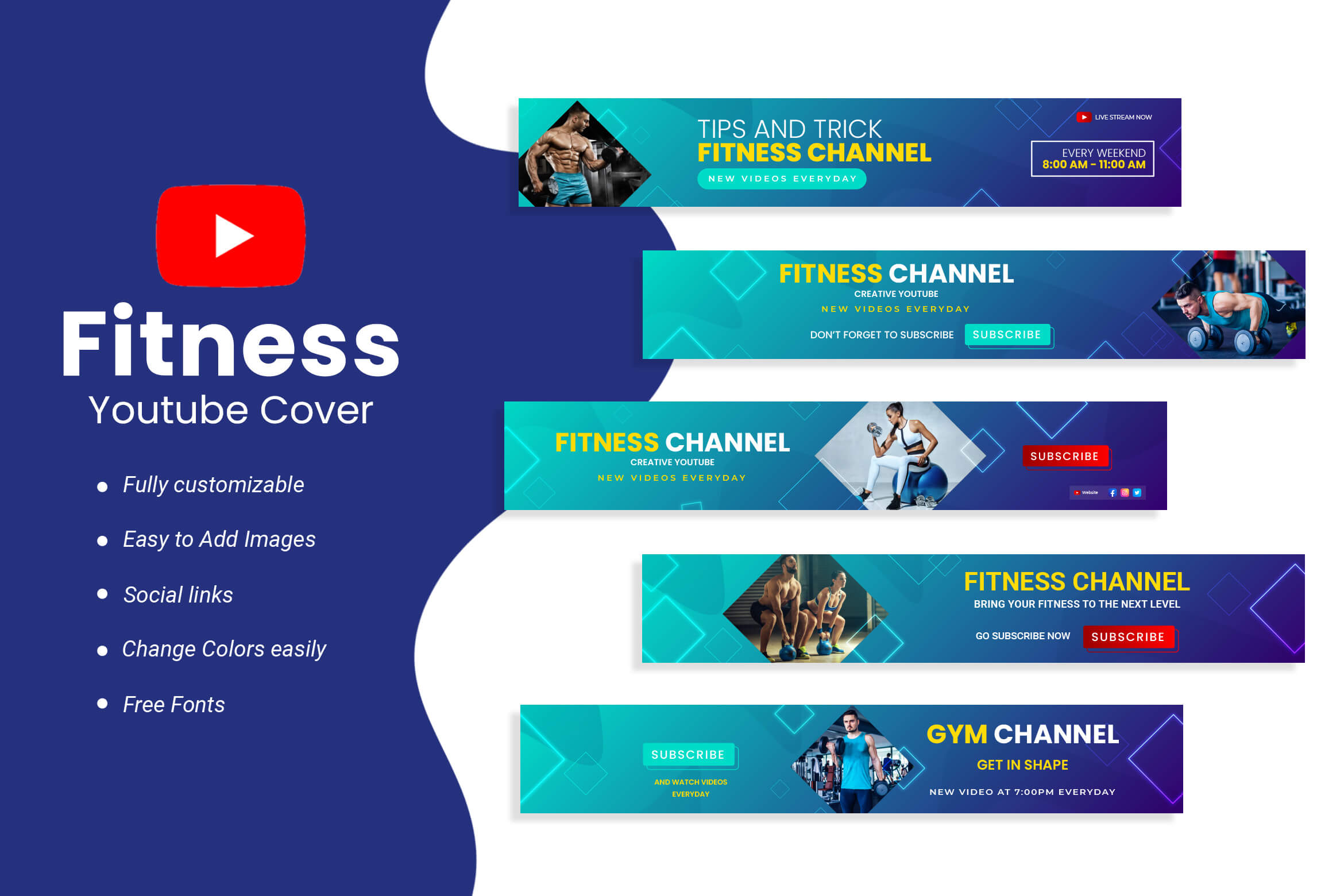 Fitness Youtube Cover
