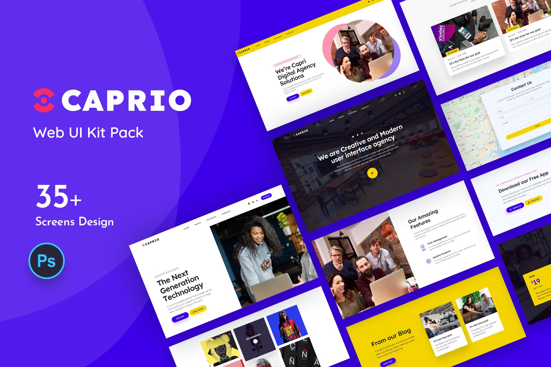 Caprio Web UI Kit