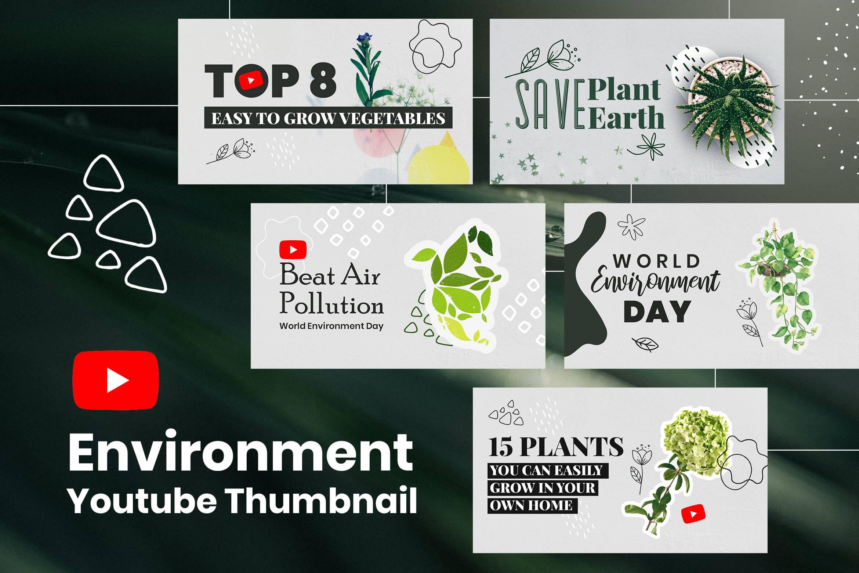 Environment Youtube Thumbnails