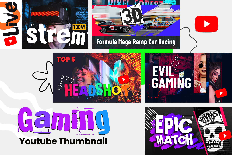 Game Youtube Thumbnails