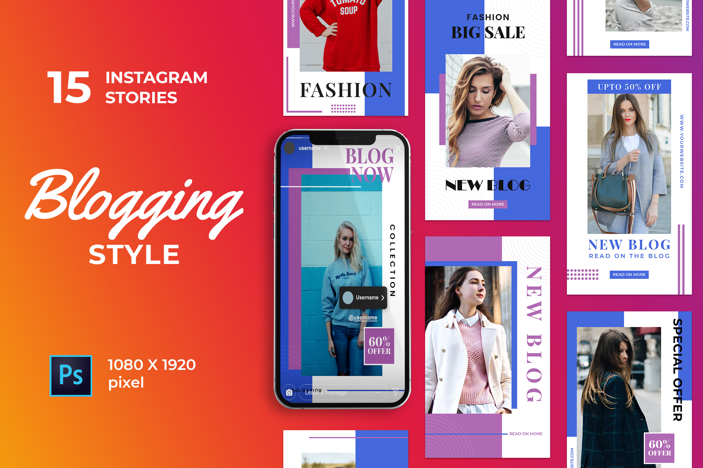 Blogging Instagram Stories Pack